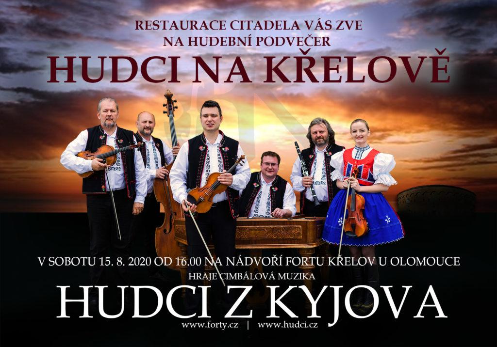 Hudební podvečer s cimbálovou muzikou Hudci z Kyjova